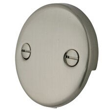 2 Hole Round Plate with Screw