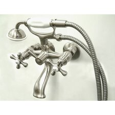 Charleston Wall Mount Diverter Tub / Shower Faucet