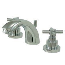 <strong>Elements of Design</strong> Tampa Mini Widespread Bathroom Faucet with Double Cross Handles