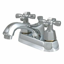 Metropolitan Centerset Bathroom Faucet with Double Cross Handles