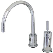 <strong>Elements of Design</strong> Widespread Kitchen Faucet with Metal Lever Handle