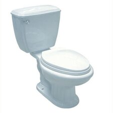 <strong>Elements of Design</strong> Ecoline Close Coupled Elongated 2 Piece Toilet