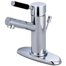 <strong>Elements of Design</strong> Kaiser Single Handle Single Hole Bathroom Faucet with Cover Plate