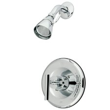 <strong>Elements of Design</strong> Manhattan Single Handle Volume Control Shower Faucet