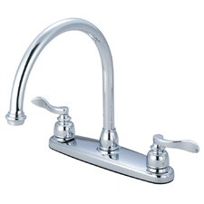 NuWave French Double Handle Centerset Kitchen Faucet