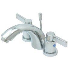 NuvoFusion Double Handle C Spout Mini Widespread Bathroom Faucet