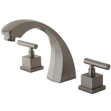 Claremont Double Handle Roman Tub Filler