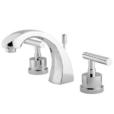 <strong>Elements of Design</strong> Manhattan Double Handle Widespread Bathroom Faucet