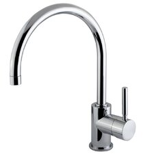 <strong>Elements of Design</strong> Concord Single Handle Single Hole Vessel Sink Faucet without Pop-Up and Plate