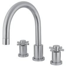<strong>Elements of Design</strong> Concord Double Handle Roman Tub Filler
