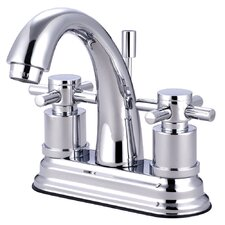 <strong>Elements of Design</strong> Concord Double Handle Deck Mount Bathroom Faucet