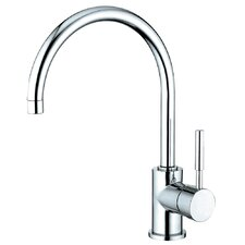 <strong>Elements of Design</strong> Concord Single Handle Kitchen Faucet with Plate