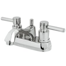 <strong>Elements of Design</strong> South Beach Double Handle Centerset Bathroom Faucet