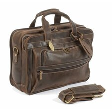 <strong>Claire Chase</strong> Guardian Leather Laptop Briefcase