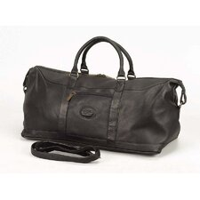 "<strong>Claire Chase</strong> All American 20"" Leather Carry-On Duffel"