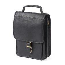 Mini Leather Laptop Briefcase
