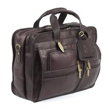 Executive Leather Laptop Briefcase