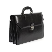 <strong>Claire Chase</strong> Italian Leather Laptop Briefcase