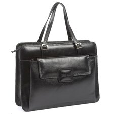 Chantilly Italian Leather Laptop Briefcase