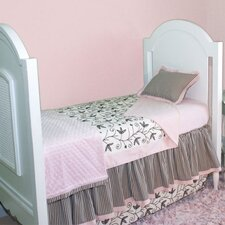 Sweet Dreams Toddler Coverlet and Pillow