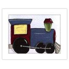Transportation Train Giclee Framed Art