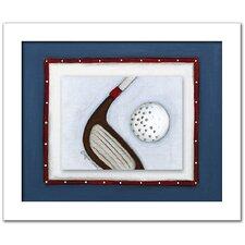 Sports Golf Framed Art