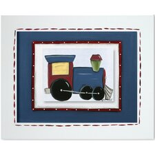 Transportation Train Giclee Framed Art