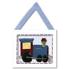 Train Framed Giclee