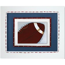 Sports Football Giclee Framed Art