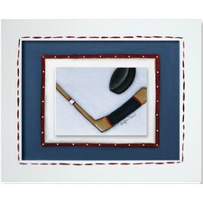 Sports Hockey Framed Art