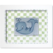 Sea Life Whale Framed Giclee Wall Art