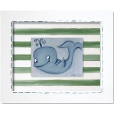 Sea Life Whale Framed Art