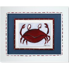 Sea Life Crab Framed Art