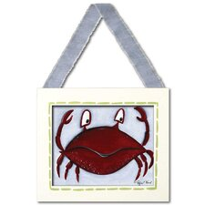 Sea Life Crab Giclee Framed Art