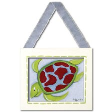 Sea Life Turtle Giclee Framed Art
