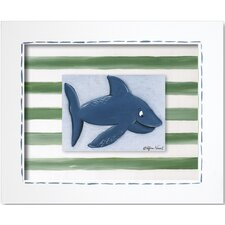 Sea Life Shark Framed Art