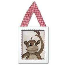 Monkey Framed Giclee