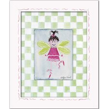 Fairies Brunette Fairy Giclee Framed Art