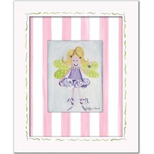 Fairies Fairy Framed Giclee - Blonde Wall Art