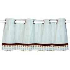 Bubbles Grommet Tailored Curtain Valance