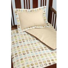 Bubbles Toddler Coverlet and Pillow