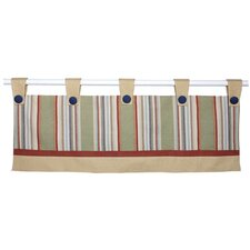 "Safari Double 80"" Curtain Valance"