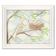 Birdie Blue Diamond Giclee