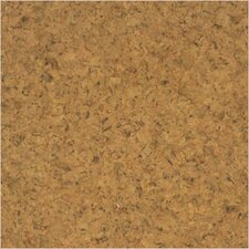 SAMPLE - Floor Tiles Solid Cork in Sandy