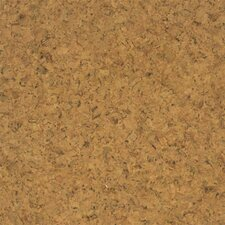 "Floor Tiles 12"" Solid Cork Flooring in Sandy"