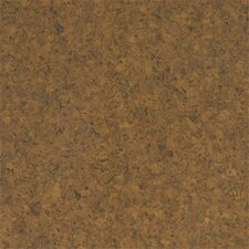 "Floor Tiles 12"" Solid Cork Flooring in Terracotta"