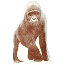 <strong>Fauna</strong> Mini Organic Cotton Gorilla Cushion