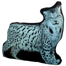 <strong>Fauna</strong> Mini Organic Cotton Lynx Cushion