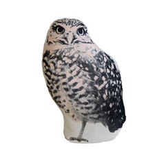 Mini Organic Cotton Owl Cushion