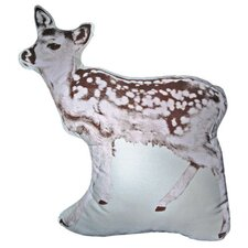 Large Organic Cotton Fawn Cushion
